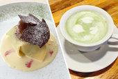 【カフェ イ・ルンガ】春待ちカフェメニュー*よもぎドルチェ&ドリンク
