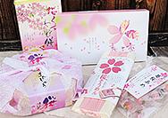【東大寺 門前市場】桜の商品がせいぞろい
