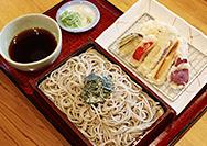 【喜庵】野菜天ぷらが7種類