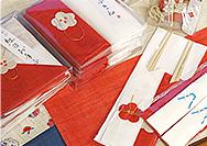 【幡・INOUE】新年からの紅白ふきん