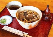 【喜庵】秋限定の味覚蕎麦(9月中旬~)