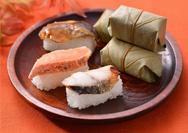 【ゐざさ】季限定柿の葉寿司