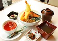 【黒川本家】季節の葛あんかけ丼セット