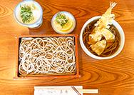 【喜庵】8月のおすすめお蕎麦